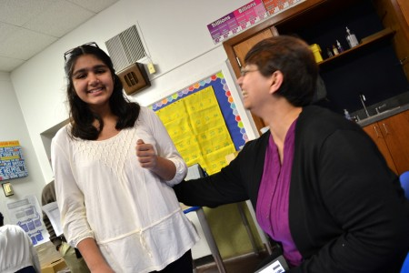 Mishal and her mother Nadia are both big fans of STEAM.
