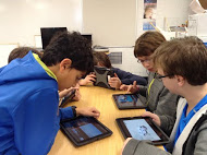 A2 STEAM students working on a project