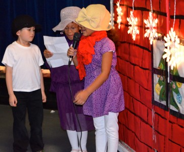 Dream and  are among the talented first graders.