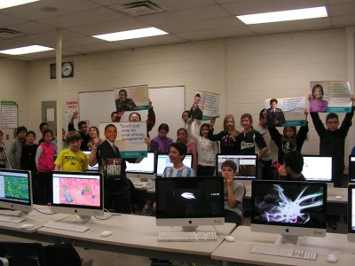 Clague Middle School says: Don't just play on your phone. Program it!