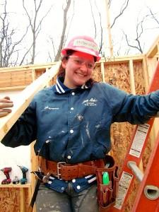 Huron senior Miranda Cox will graduate with both construction and culinary skills.