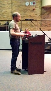 Jeff Hayner said he is a gun-owner who would never consider bringing a gun into a school.