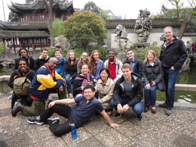 The students visited four Chinese cities.