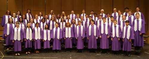 "Pioneer's A Cappella Choir has been deemed one of the two MSVMA ""Outstanding Choirs."""