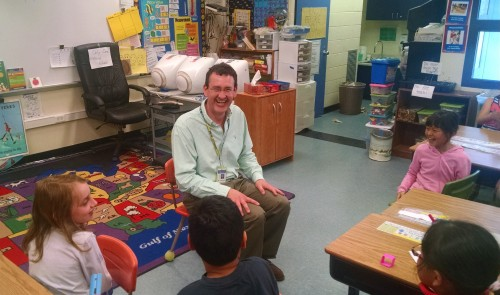Tom Clarkson strives to make sure students laugh as they learn.