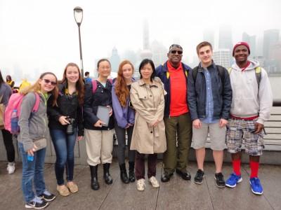 Left to right are: Grace Battersby, Megan Battersby , Parka Snelson , Tamara Joy Snelson , Fan Wu, Nathaniel L. Powell, Daniel Laurie Moore , Langston Laramore-Josey.
