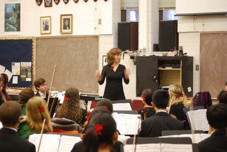 Abigail Alwin will travel with the contingency to China as a guest conductor.