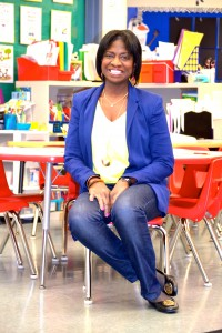 Deborah Joseph teaches kindergarten at Bryant Elementary. Photo by Jo Mathis.
