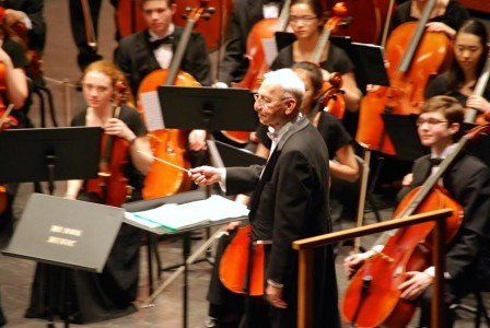 Longtime Huron symphony director Larry Dittmar will be a guest conductor.