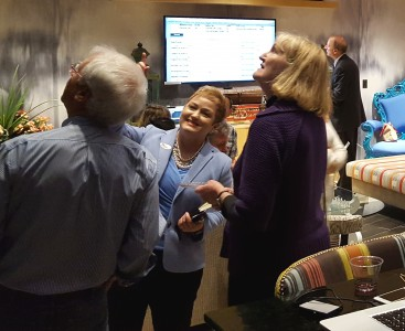 AAPS supporters react to the results Tuesday night. Photo by Michael Hogue.