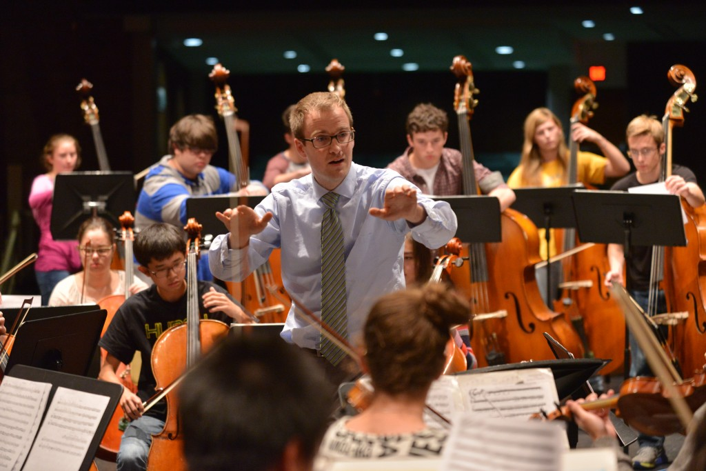 The Huron Symphony Orchestra under the directory of Timothy Krohn will perform at next year's Michigan Music Conference.