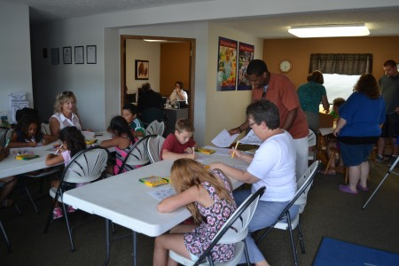 The program is a continuation of The Homework Club, and is held at the Orchard Grove Village business offices.