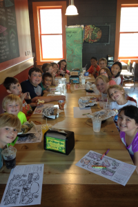 Restaurant Camp gives students the opportunity to try, and then critique, local eateries.