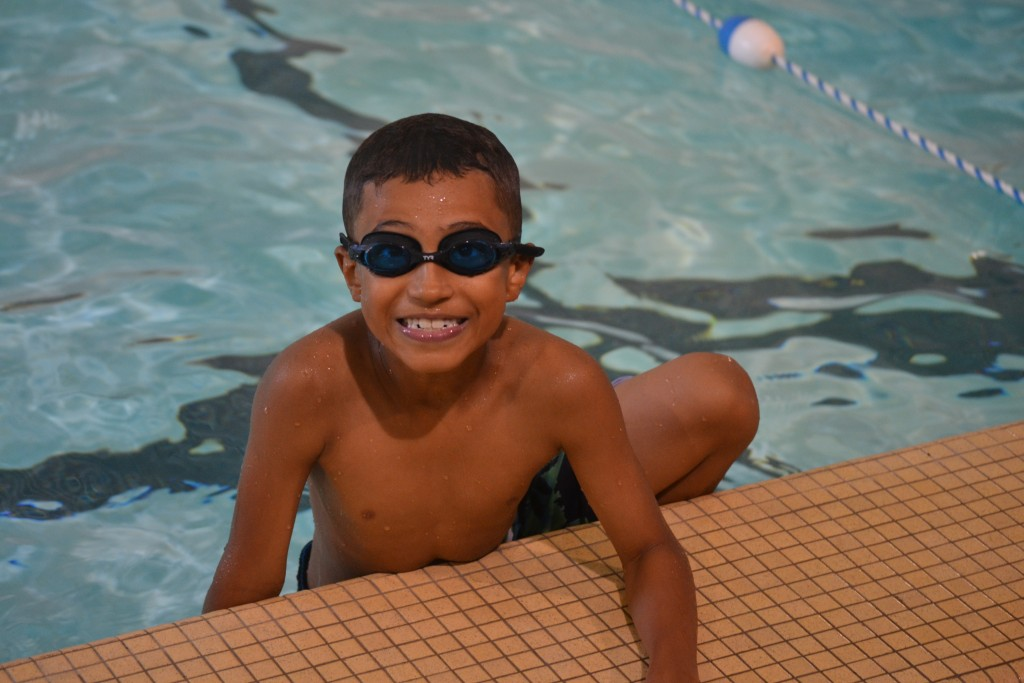 Swimming is one of many activities kids get to experience at Rec and Ed camps.