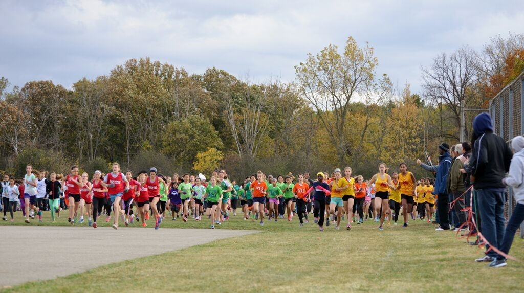 Cross country is the most popular after-school sport among AAPS middle school students.