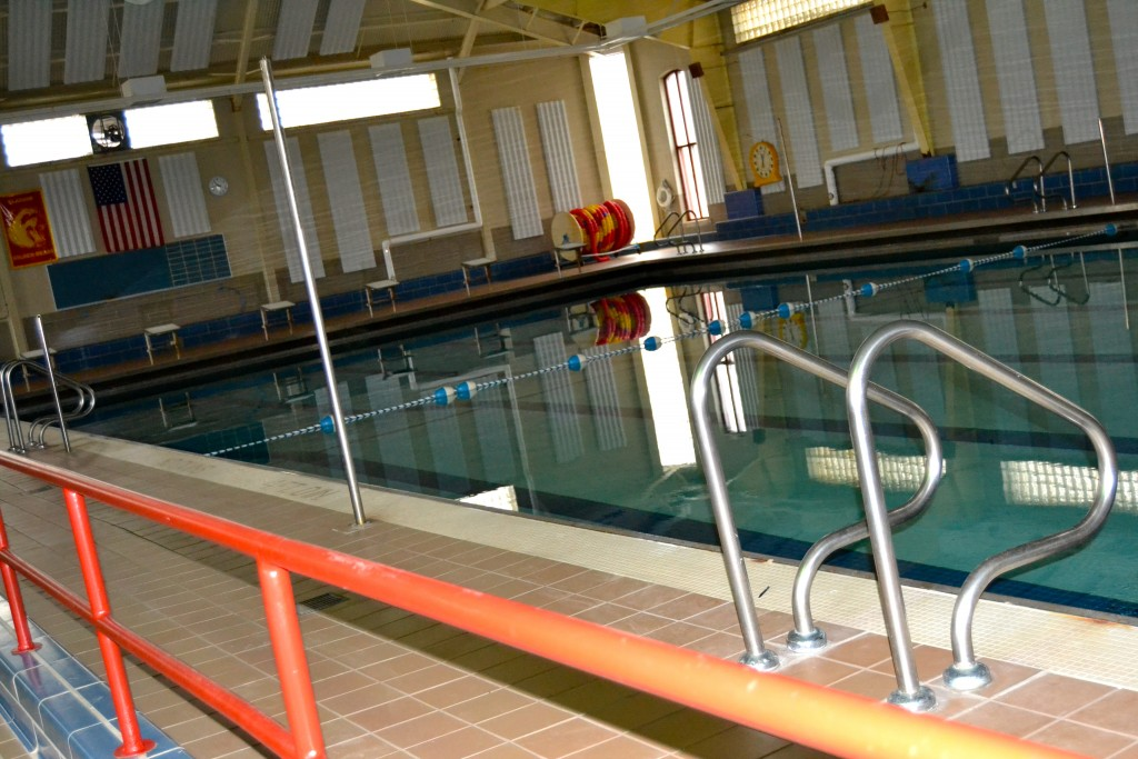 Lifeguards are needed at AAPS middle school swimming pools, including the one at Slauson, pictured here.
