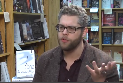 Gavi Savit talks about his debut novel in this video shot this week. He returns to Ann Arbor for a book signing Feb. 17, 2016.