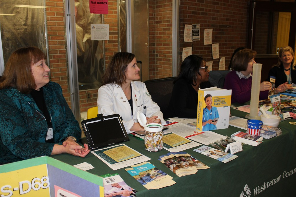 Career Night offers students a chance to talk to the pros about various career opportunities.