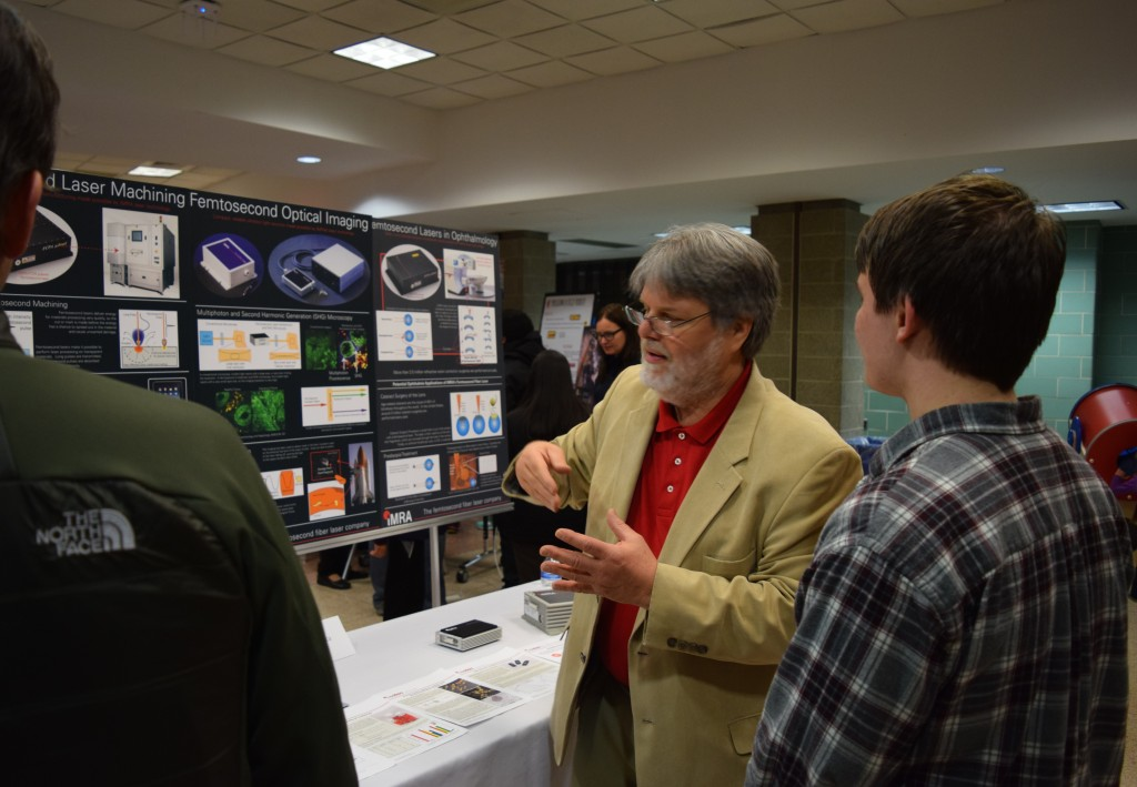 An IMRA America scientist talks about his career.