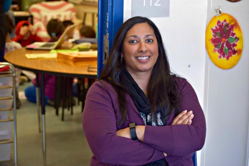 Neha Shah, King Elementary Fifth Grade Teacher