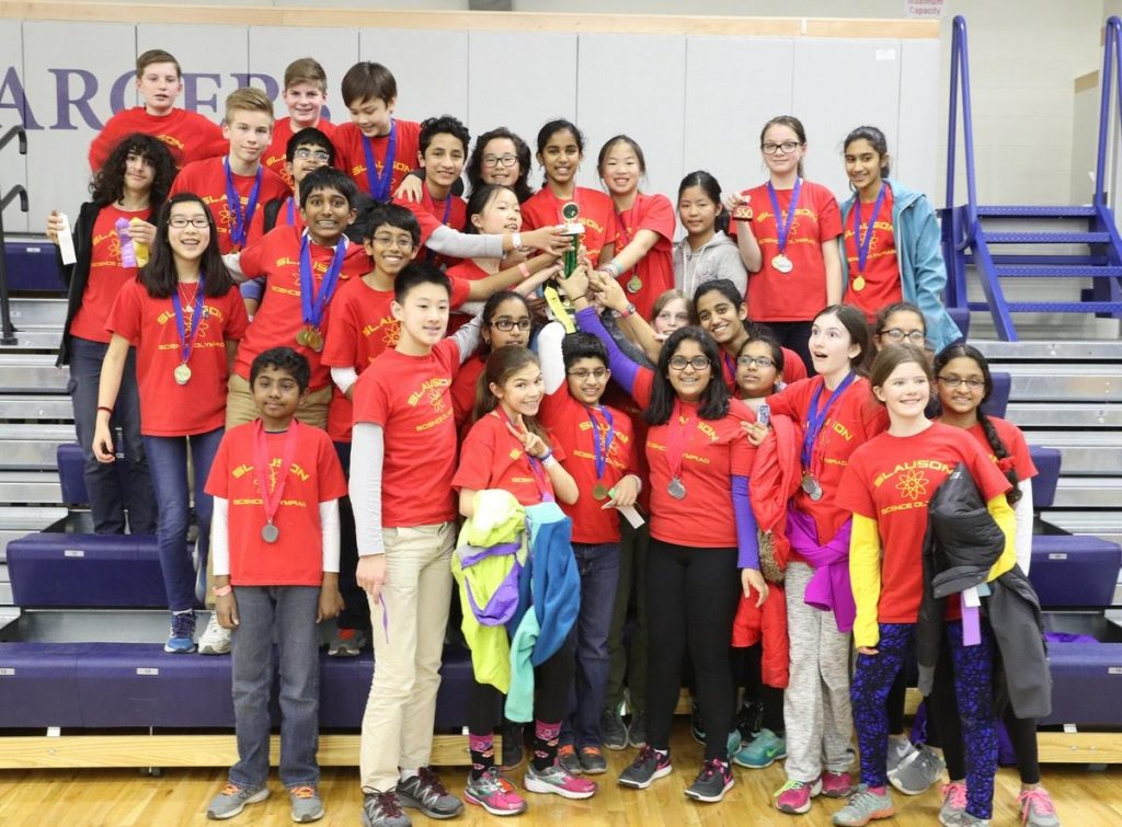 Slauson and Clague students excel at State Science Olympiad Tournament |