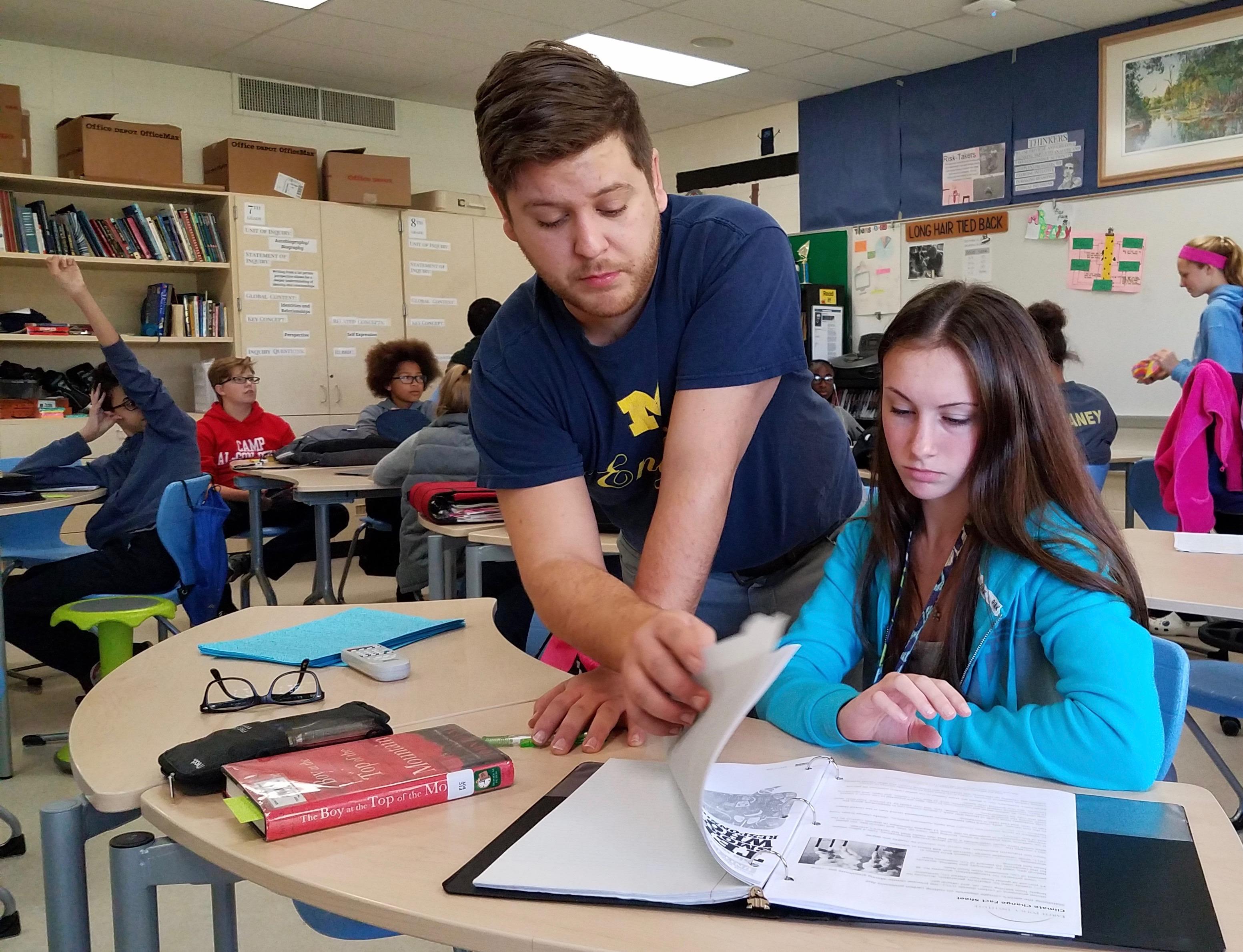 Elliot Wills Begley, Scarlett Middle School Language And Literature Teacher  |