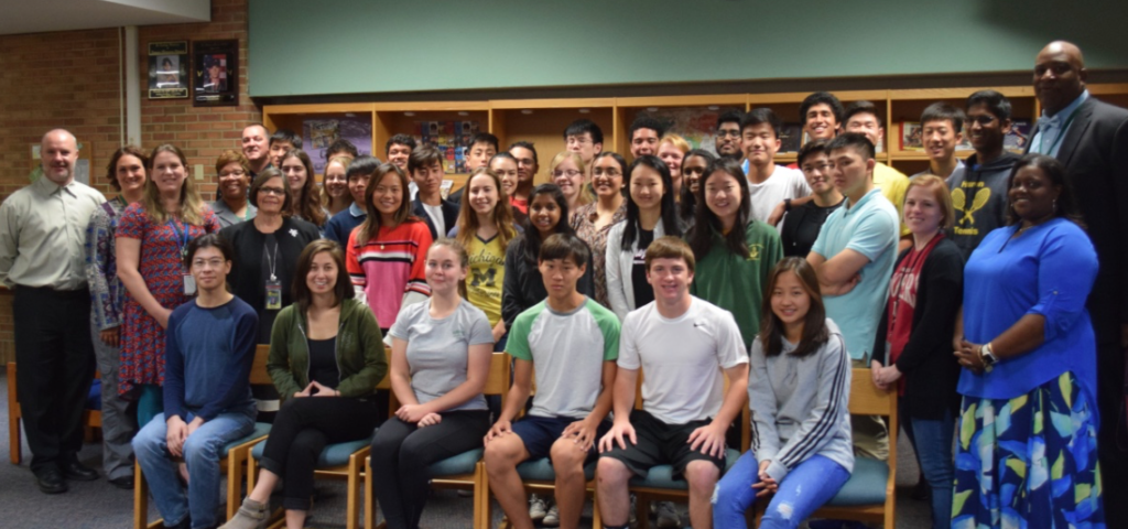 Huron High School's 2019 National Merit Semi-Finalists
