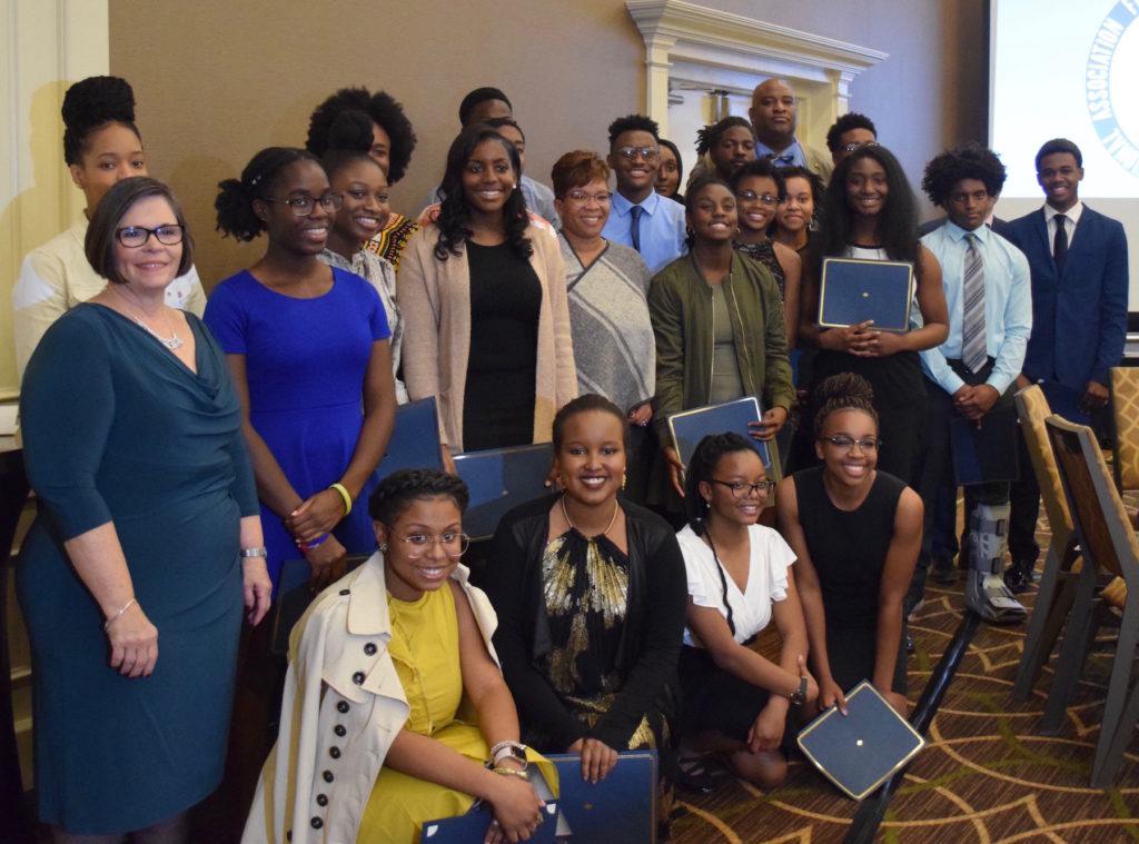 Huron High School Staff and 2018 Freedom Fund Scholars
