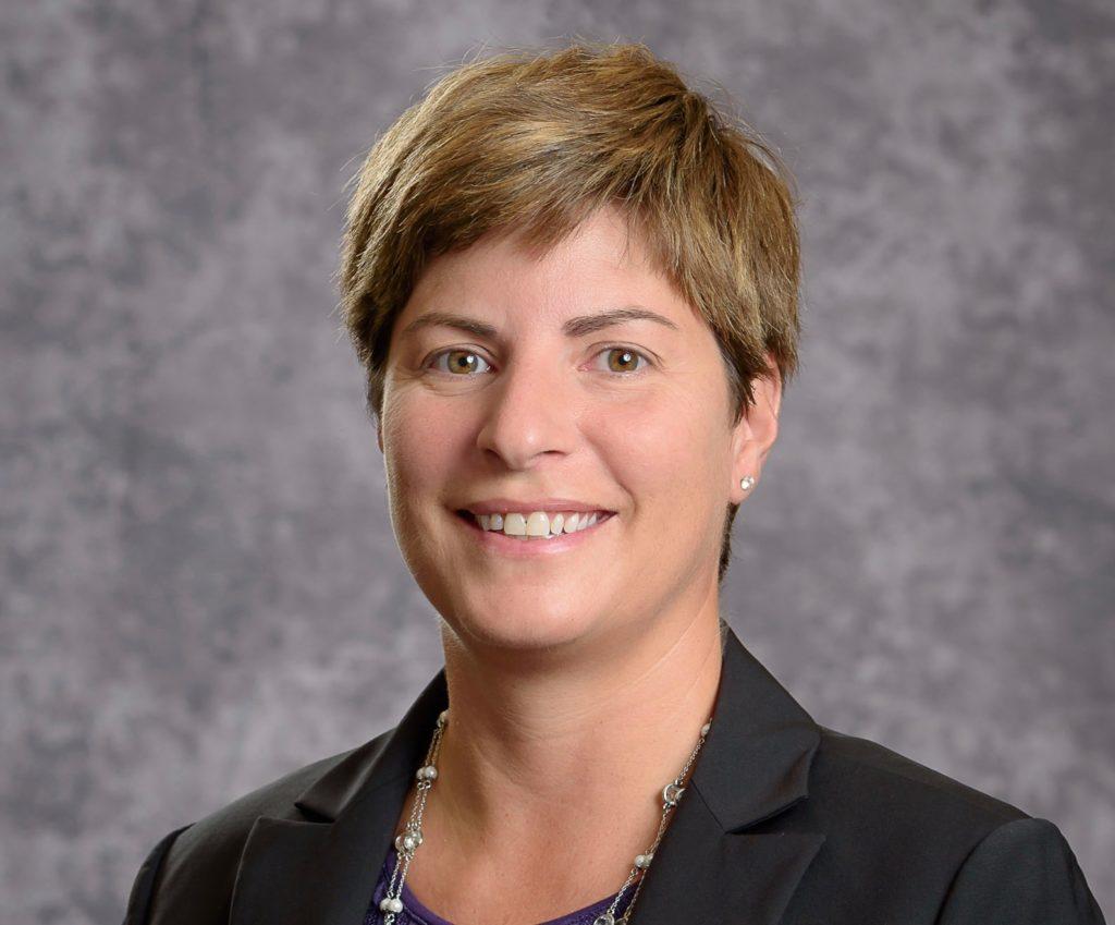 Head shot of Eve Claar, Pioneer High School Athletic Director