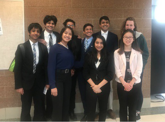 Members of Huron's 2019 Forensics team