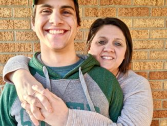 Kristy and her son Jay