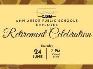 Invite to the retirement celebration